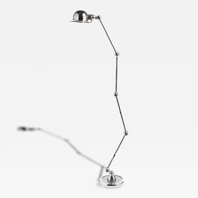 Jean Louis Domecq Articulated Chrome Floor Lamp Jean Louis Domecq Jielde Lyon