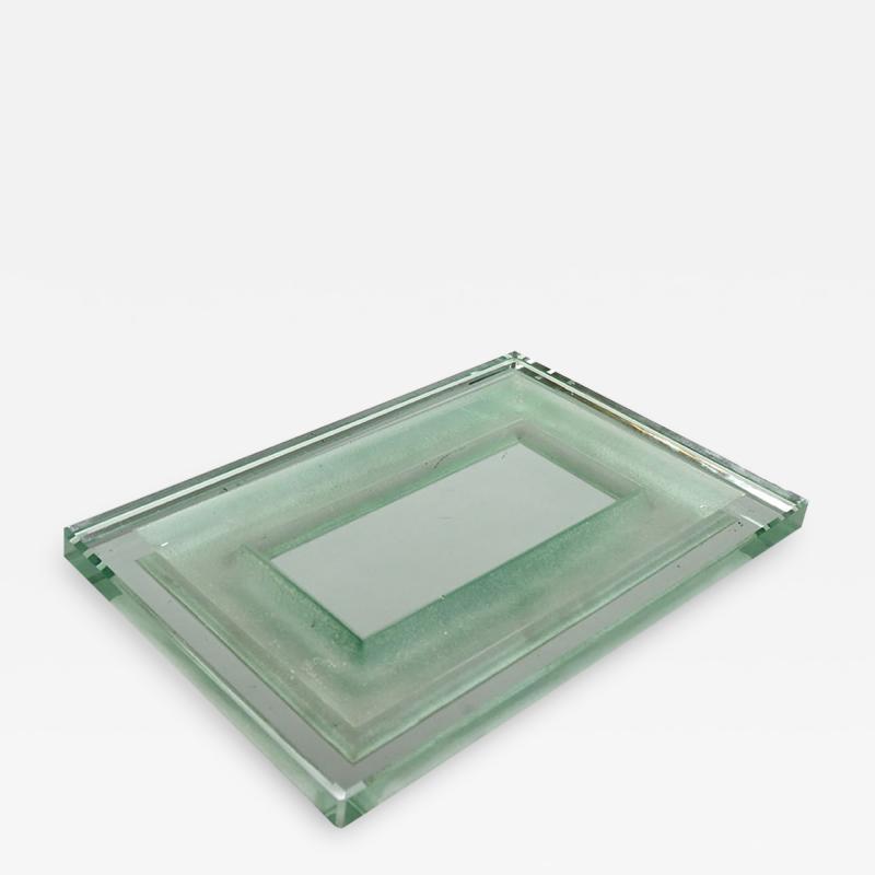 Jean Luce Vide poche in Saint Gobain glass