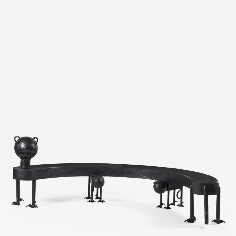 Jean Marie Fiori Cat Bench
