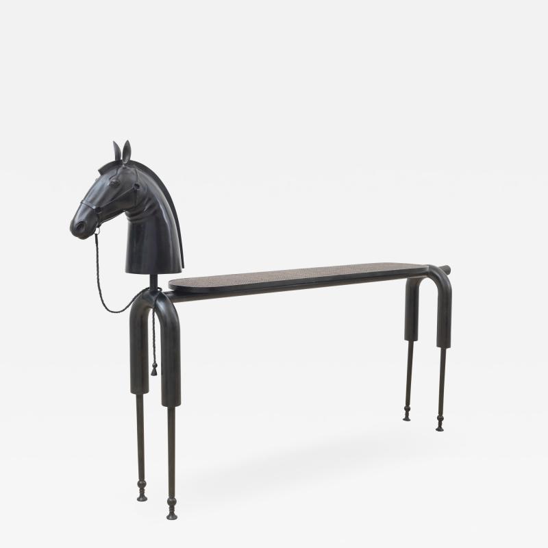 Jean Marie Fiori Horse Console