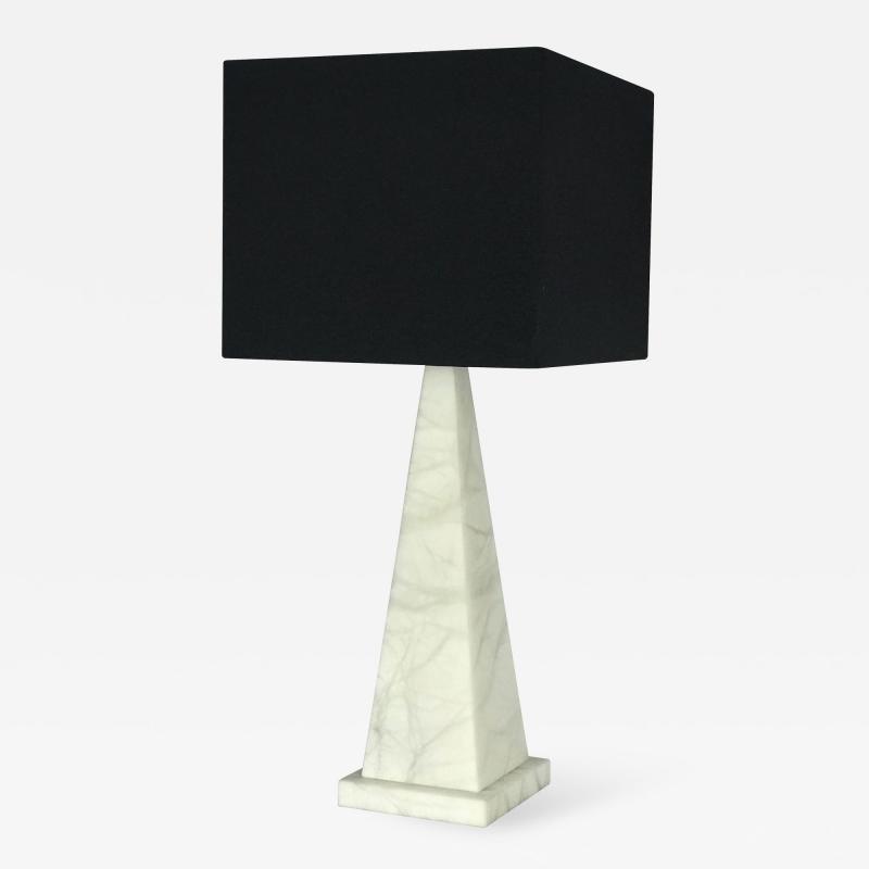 Jean Michel Frank Pyramid Lamp by Jean Michel Frank