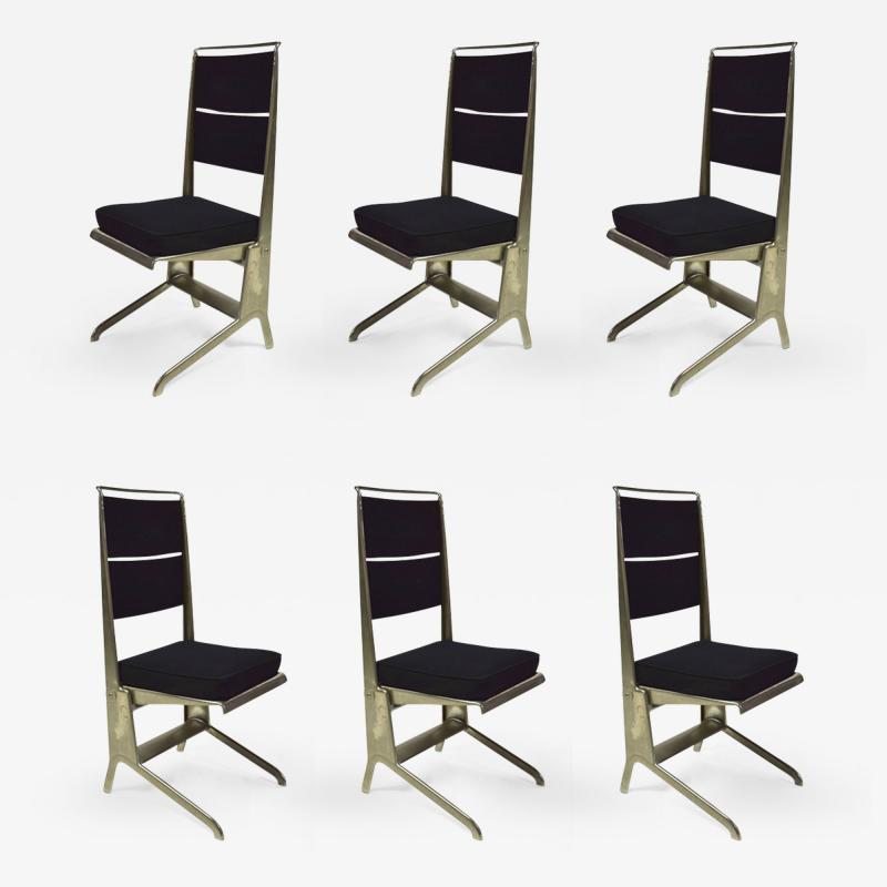 Jean Prouv 6 Folding Chairs Designed by Jean Prouv Edited by Tecta 1983