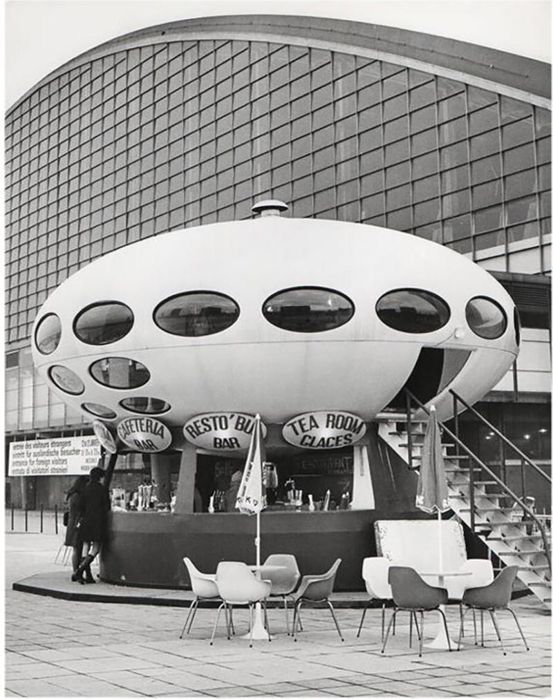 Jean Ribi re 1960 Futuro House La D fense Paris Jean Ribi re