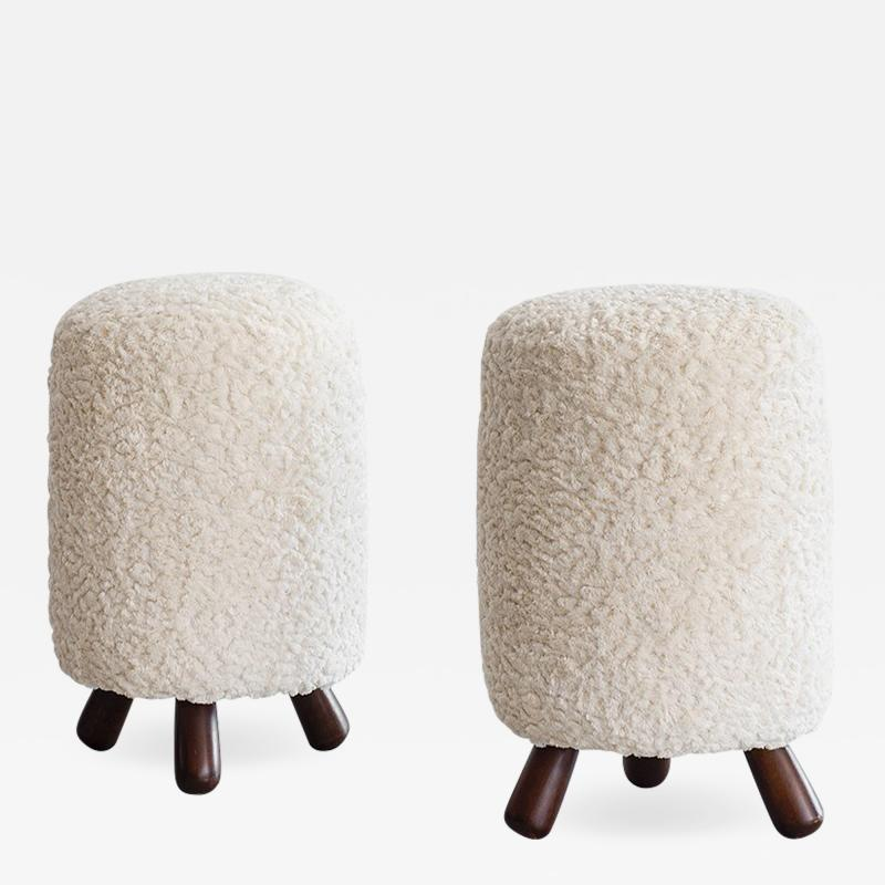 Jean Roy re JEAN ROYERE STYLE STOOLS
