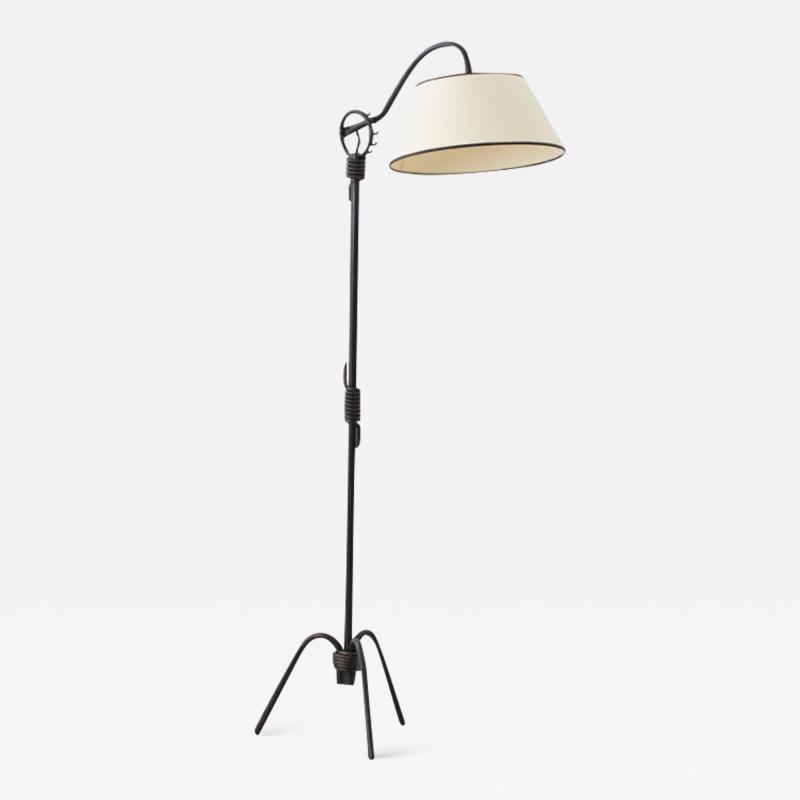 Jean Roy re Jean Roy re attr floor lamp France c 1940