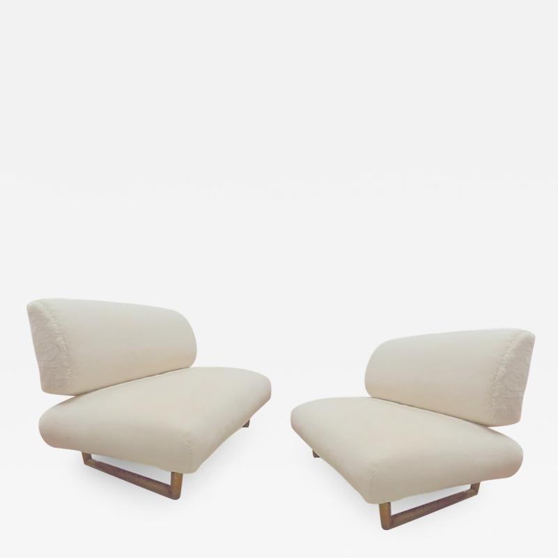 Jean Roy re Jean Royere rarest documented genuine slipper couch model Sculpture