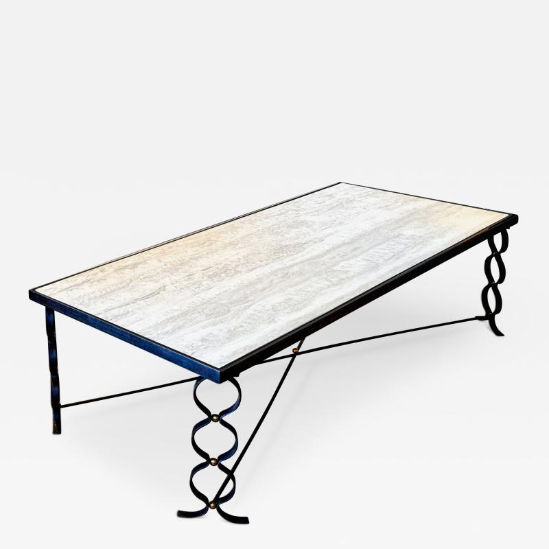 Jean Roy re Ruban Coffee Table by Jean Royere