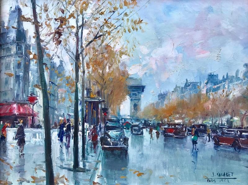 Jean Salabet View of Arc de Triomphe