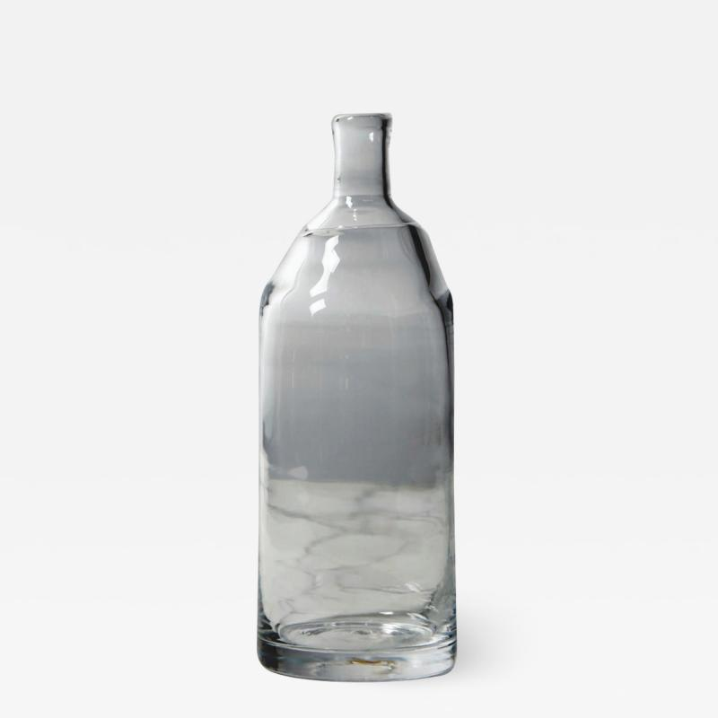 Jennie Olofsson Walden bottle and glasses by Glasstudion Big Pink