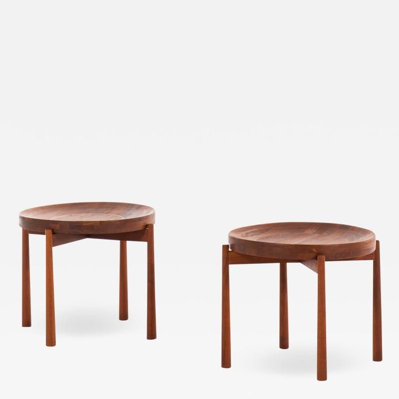 Jens Quistgaard Side Tables Fruit Bowl Produced by Nissen