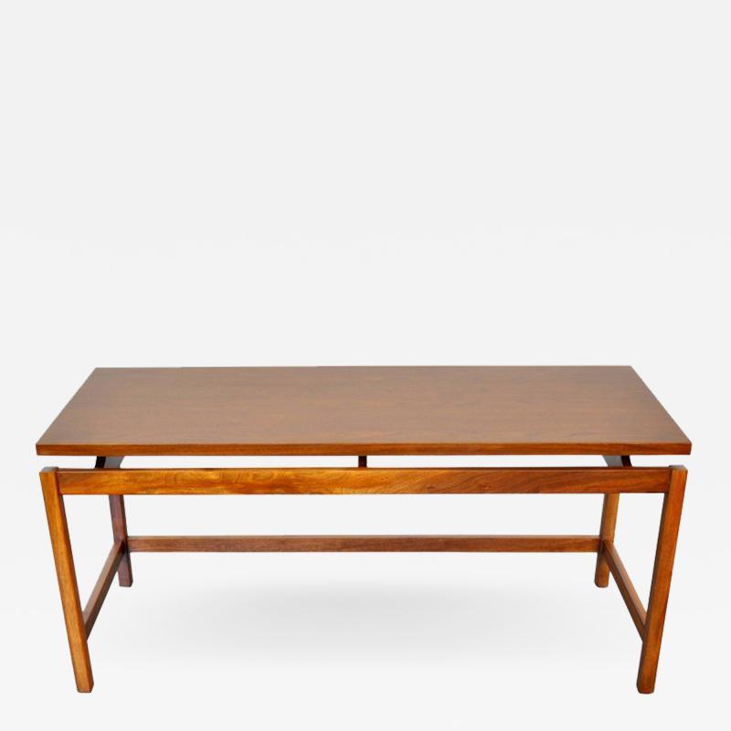 Jens Risom Jens Risom Walnut Console Table