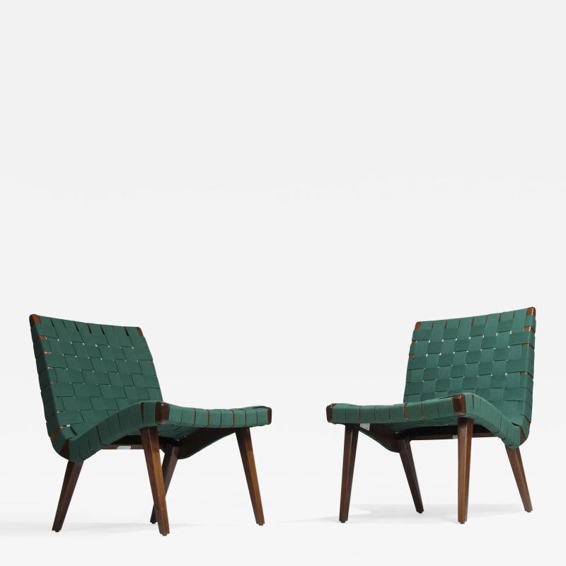 Jens Risom Jens Risom for Knoll Studio Lounge Chairs
