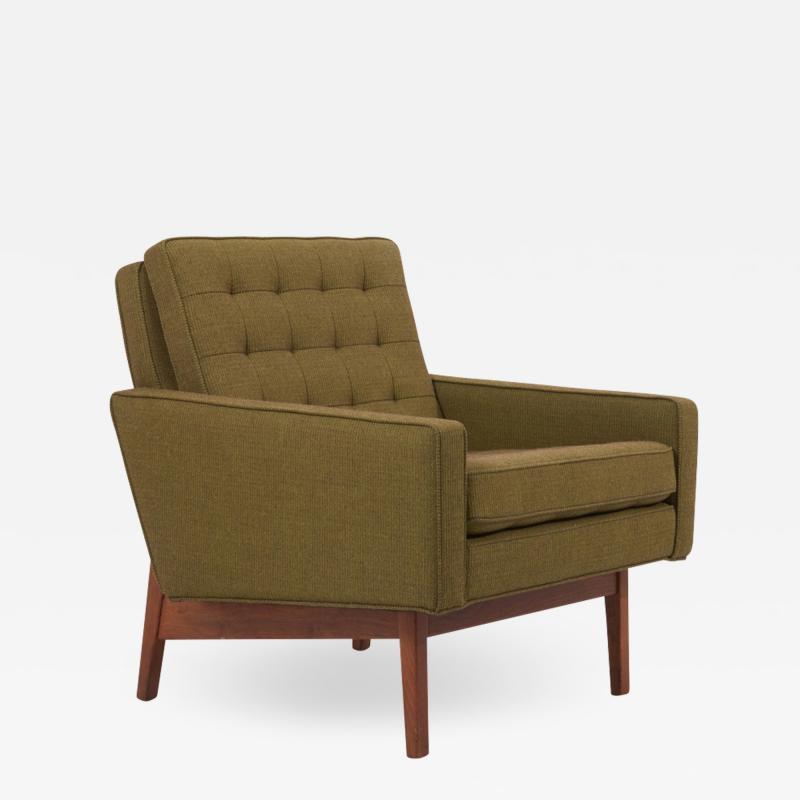 Jens Risom New Upholstered Jens Risom Lounge Chair in Risom Camira Fabric US 1950s