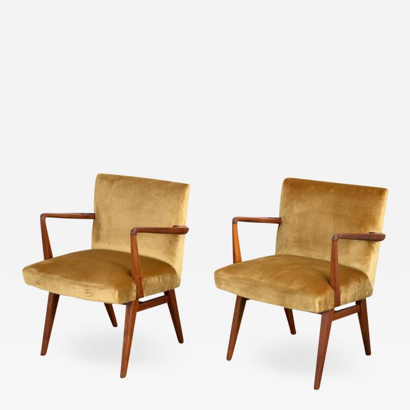 Jens Risom Pair of Jens Risom Occasional Chairs