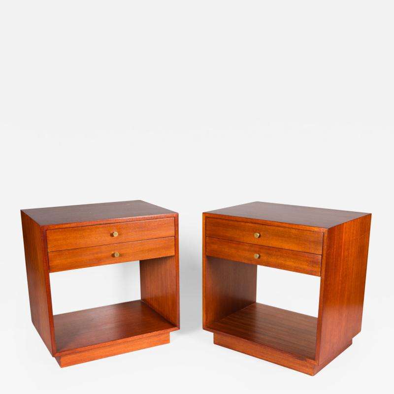 Jens Risom Pair of Jens Risom Side Tables