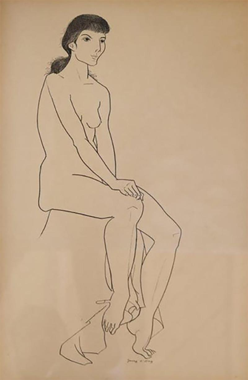 Jerry ODay Nude Drawing 1
