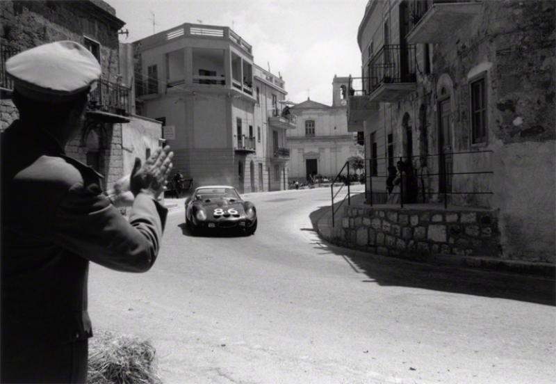 Jesse Alexander Ferrari GTO in the Targa Florio Sicily Italy 1962