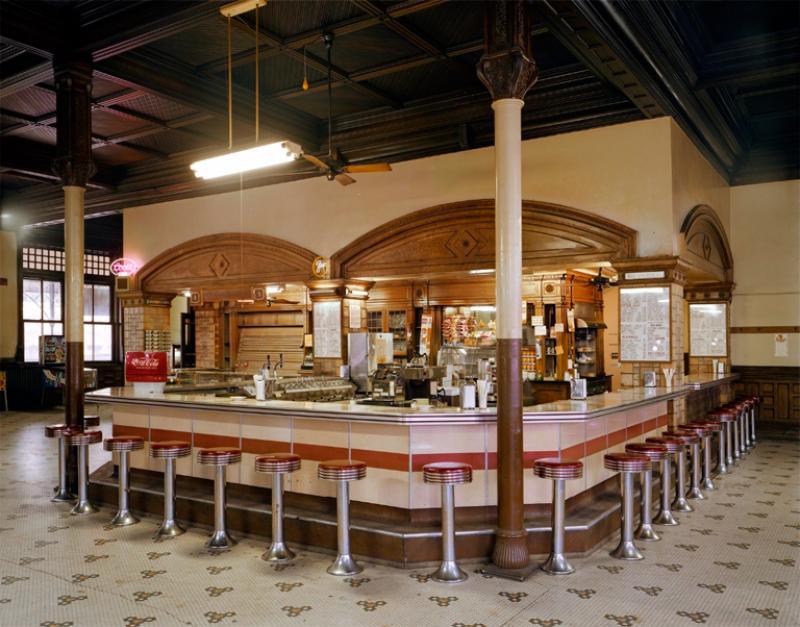 Jim Dow Lunch Counter at Union Depot Railroad Station Pueblo Colorado 1981