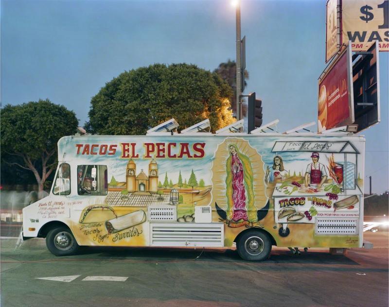 Jim Dow Tacos El Pecas Boyle Heights Los Angeles California 2008