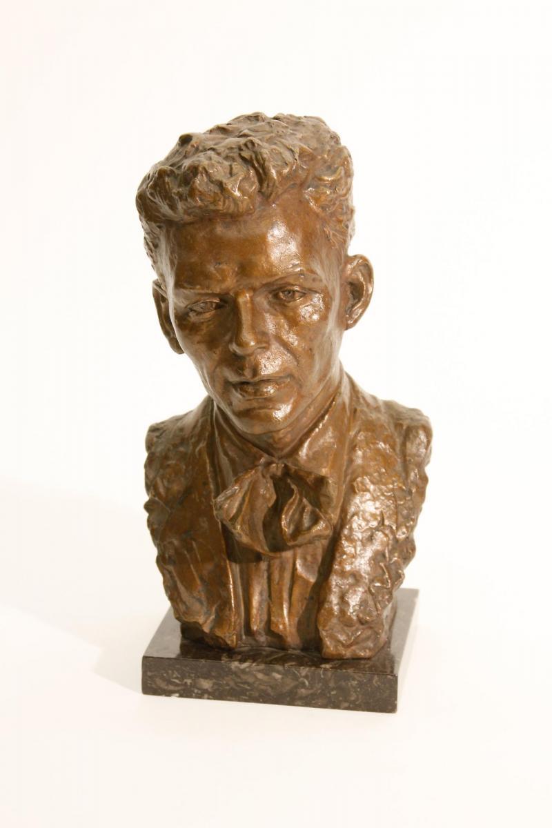 Jo Davidson Frank Sinatra