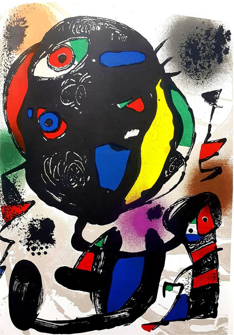 Joan Miro Joan Miro Original Abstract Lithograph 1981