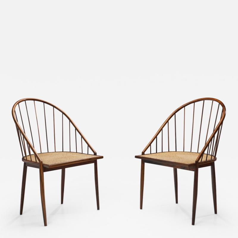 Joaquim Tenreiro Joaquim Tenreiro Curva Chairs Brazil 1960s