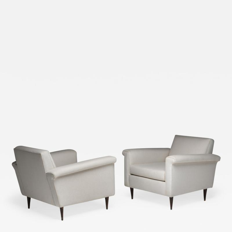 Joaquim Tenreiro Pair of Rare Joaquim Tenreiro Lounge Chair Brazilian Midcentury
