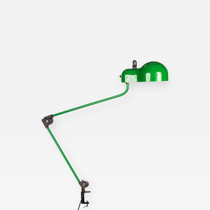 Joe Colombo Joe Colombo Topo Green Task Lamp for Stilnovo circa 1970