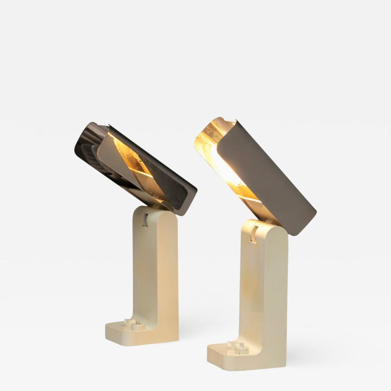 Joe Colombo Pair of Vademecum Table Lamps by Joe Colombo for Kartell
