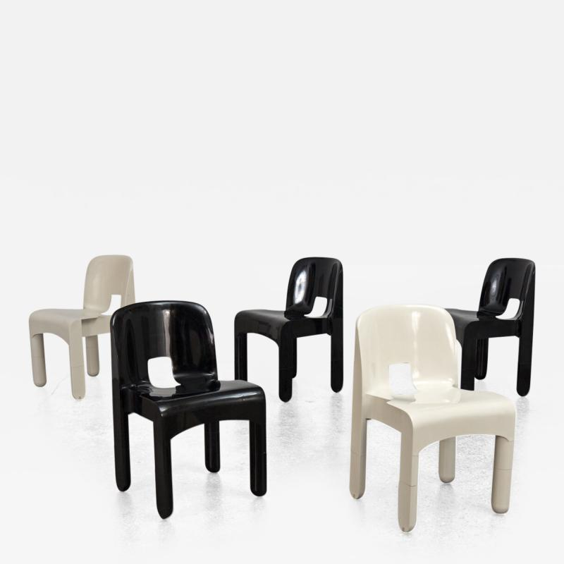 Joe Colombo Universale Chairs by Joe Colombo
