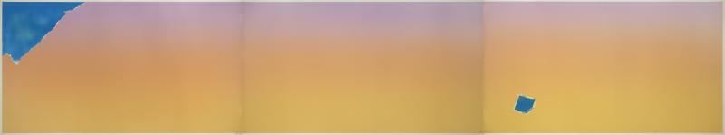 Joe Goode Untitled Cloud Triptych