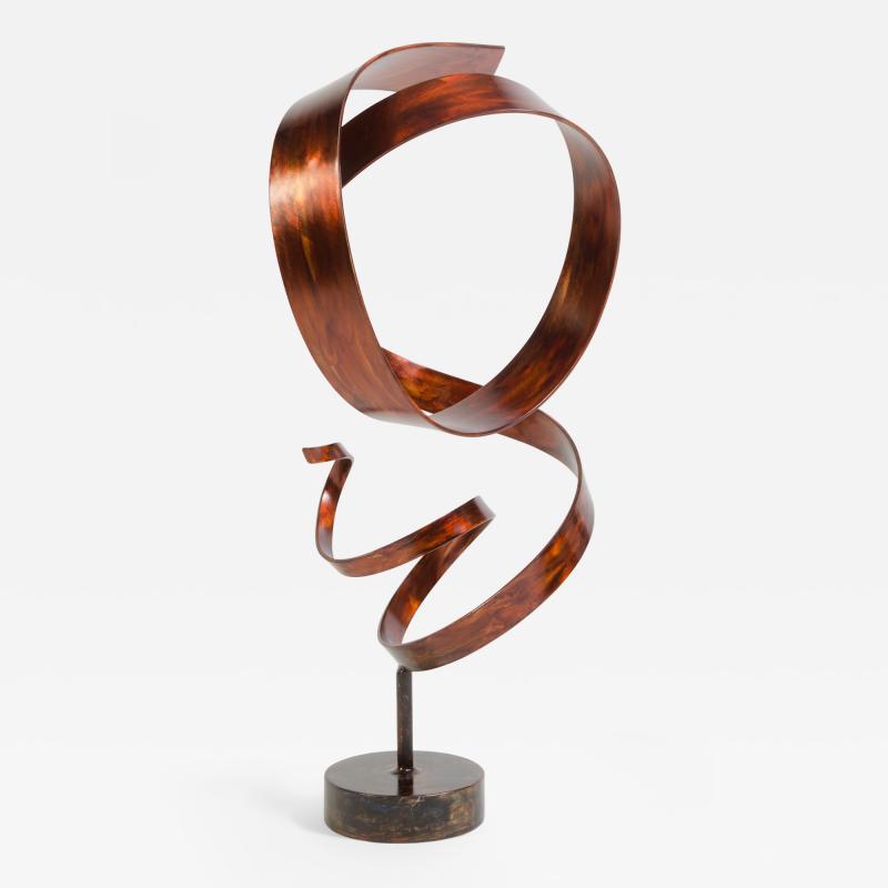 Joe Sorge Hephaestus by Joe Sorge Patinated Steel Sculpture