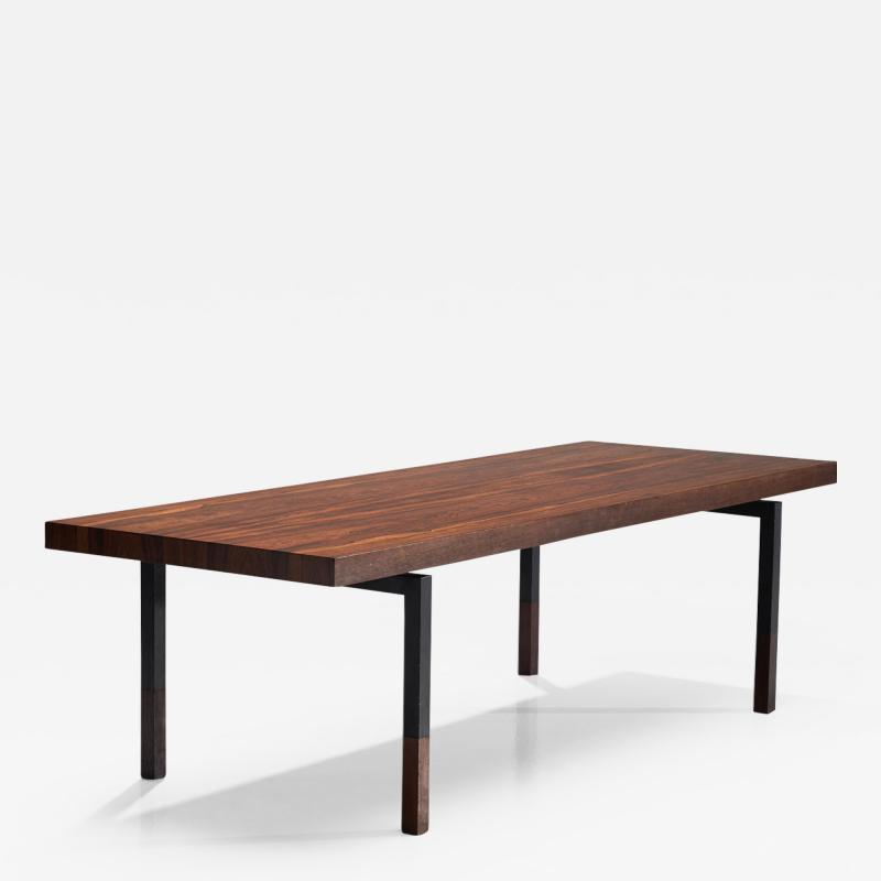 Johannes Aasbjerg Johannes Aasbjerg Rectangular Rosewood Coffee table Denmark 1959