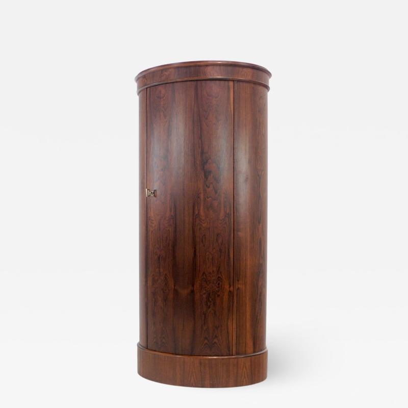 Johannes Sorth Bornholm Extraordinary Scandinavian Modern Rosewood Cabinet by Johannes Sorth Bornholm