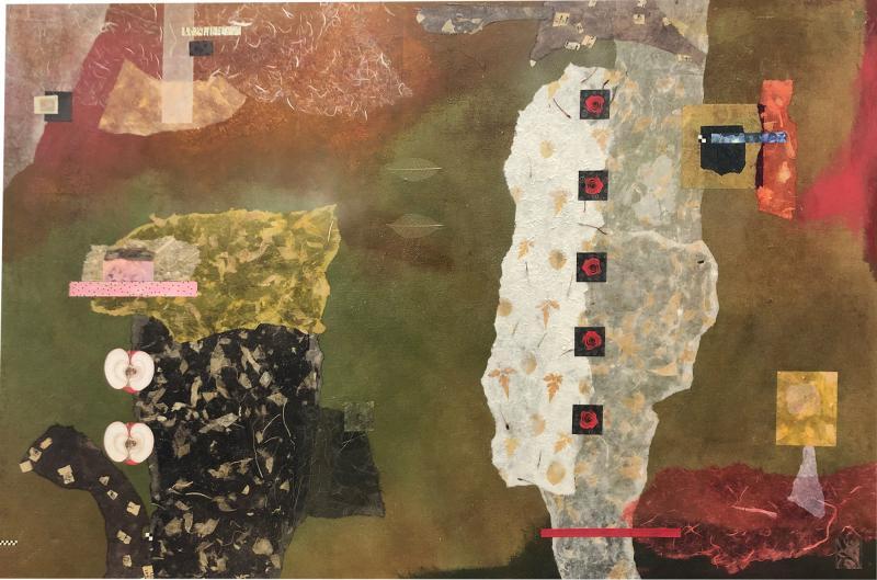 John Baughman Mixed Media Abstract