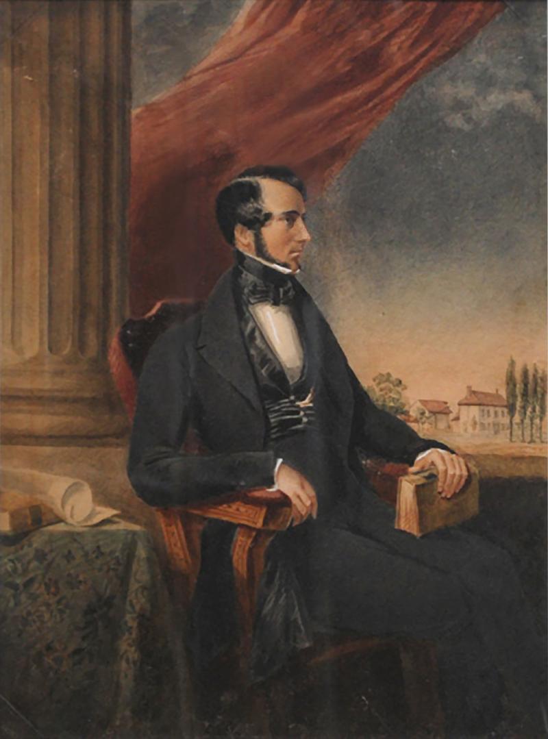 John Burn Forrest Portrait of Dr Richard Holmes Townsend