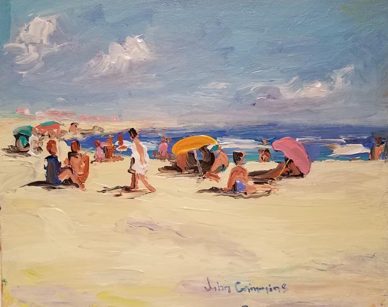 John Crimmins John Crimmins Painting East Hampton Summer