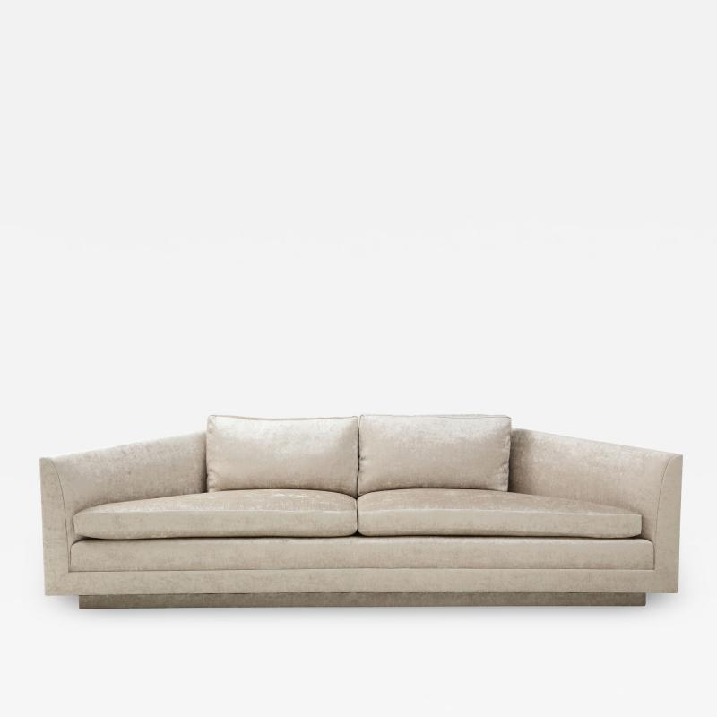 John Dickinson Rare 1970s Custom Designed John Dickinson Sofa