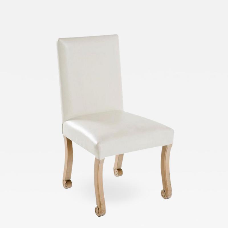 John Dickinson White Side Chair