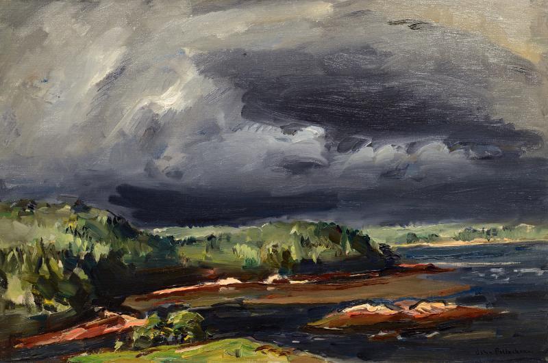 John Fulton Folinsbee Storm Over Chewonki