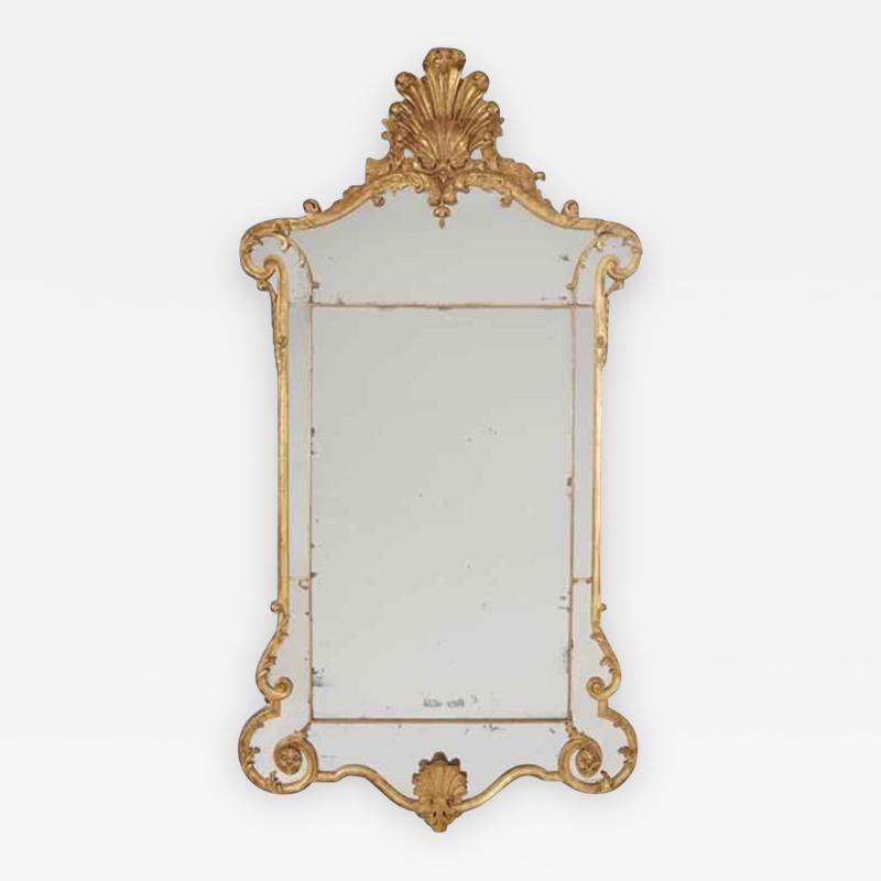 John Gumley A Fine George II Giltwood Mirror
