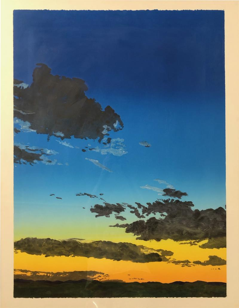 John Hogan Sunset Clouds