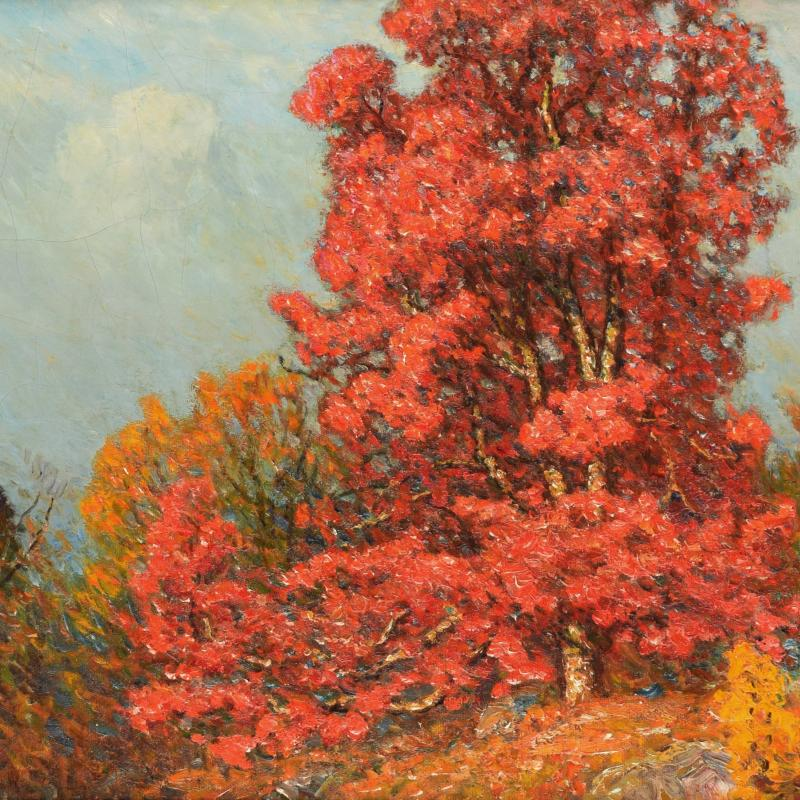 John Joseph Enneking Autumn Landscape n d
