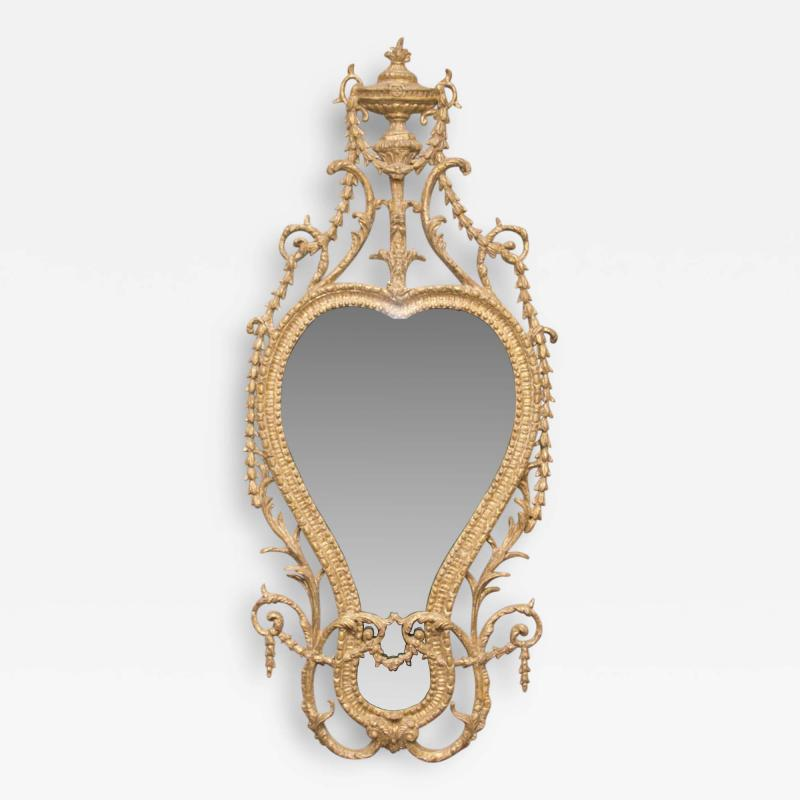 John Linnell George III Gilt Carton Pierre Mirror Attributed to John Linnell