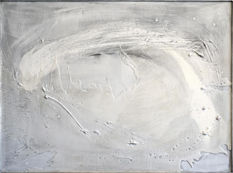 John O Carroll John OCarroll Equilibre 2013 Framed Painting