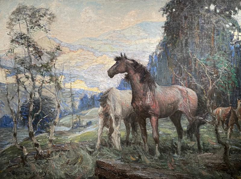John Steuart Curry Horses