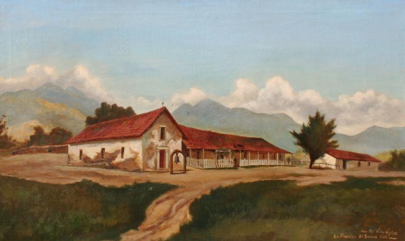John Sykes San Francisco de Solano Mission