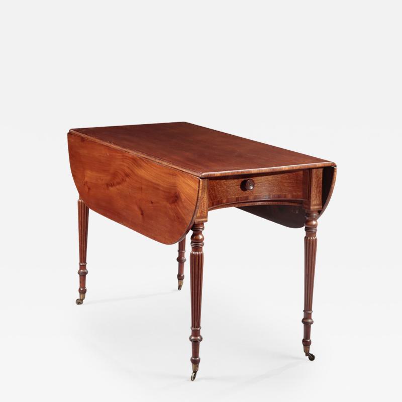 John Thomas Seymour Rare Sheraton Pembroke Table attributed to John and Thomas Seymour
