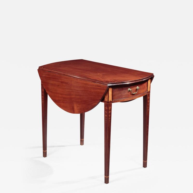 John Townsend Federal Inlaid Pembroke Table