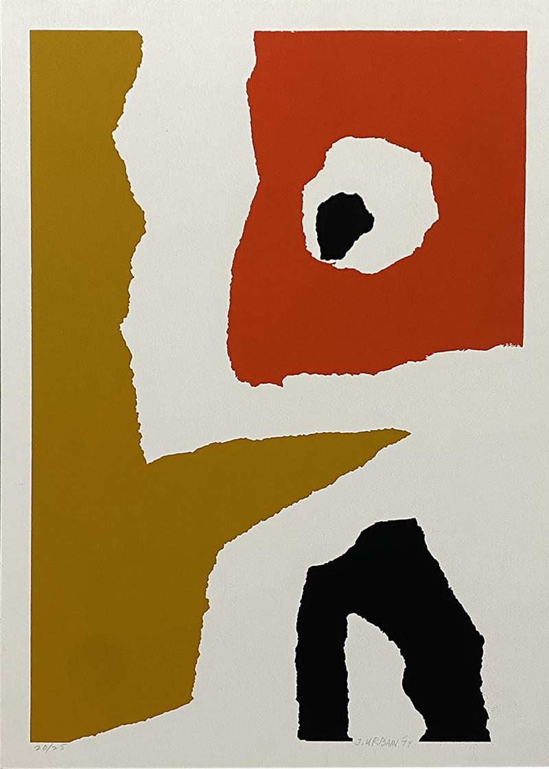 John Urban Abstract Print